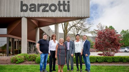 The Barzotti Family outsize Barzotti building