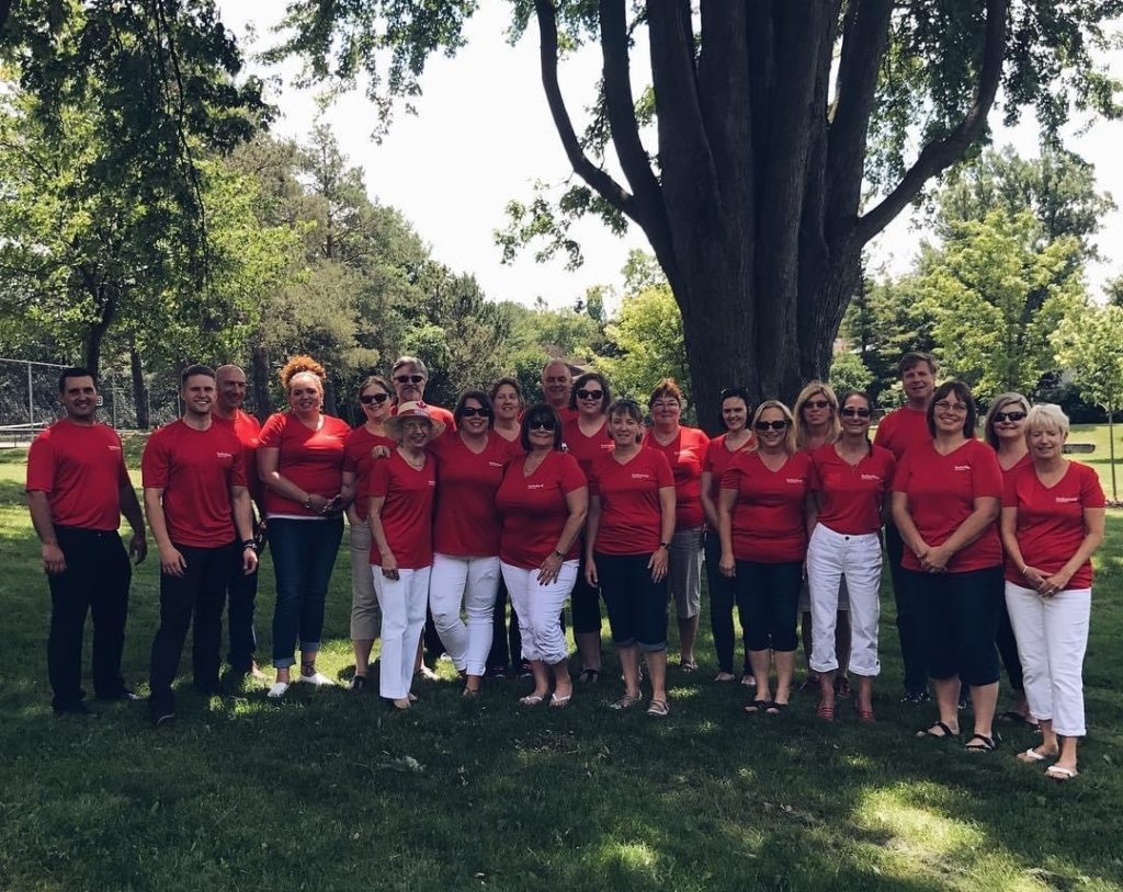 Sutherland Staff Canada Day